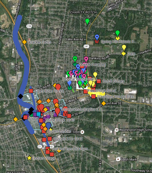 Massillon Museum: Massillon History: Mapping Out Early Massillon ...