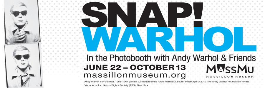 Andy Warhol Massillon Museum exhibit dates